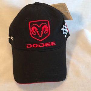 NWT Dodge black racing cap